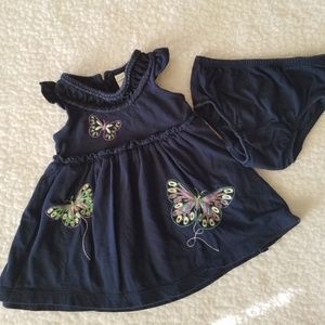 Baby Gap 2-Piece Butterfly Outfit